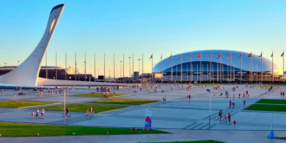 Олимпийский парк Сочи - история олимпийской деревни